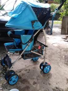 Stroller prelove ingin dilepaskan