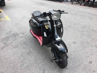 Scomadi TL125 (WC2137R) MOTOR CANTIK