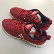 New Peak Running Shoes (Red) Sz 6.5-7 to Let Go