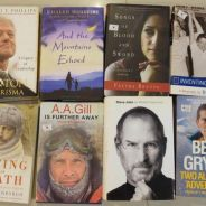 English non-fiction books (including Steve Jobs)