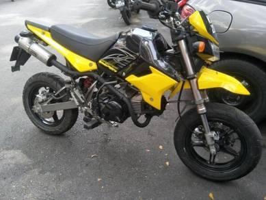 Kawasaki ksr 110 ksr110 (best condition,fun bike)