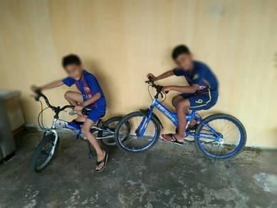 2 basikal budak