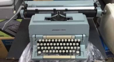 Oliveti typewriter