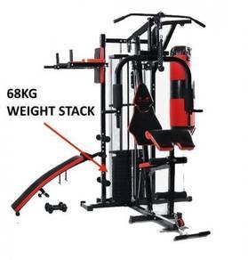 BPS TLST-M480 Home Gym Station Machine 68kg