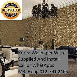 Classic Wall paper with installation ah135