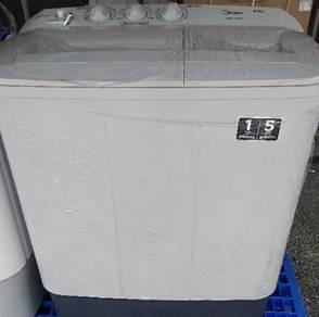 NEW Midea 6kg Semi Auto Washing Machne