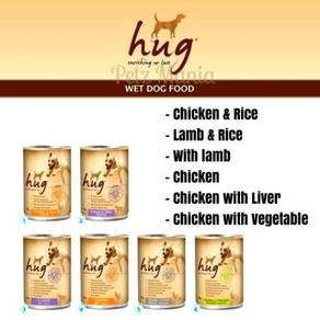 HUG dog canned food 400g