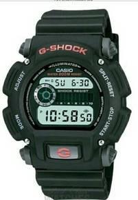 Casio G-Shock Digital Black Resin Chronograph