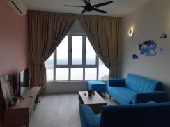 Full loan Tropez Residence, Danga Bay, Sea View, Renovated, Furnished