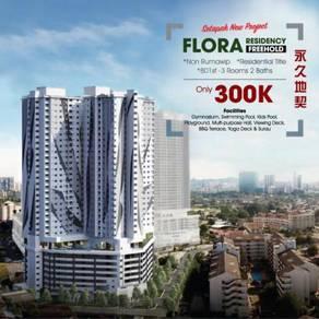 Flora residency, jalan gombak, setapak, klts (Freehold)