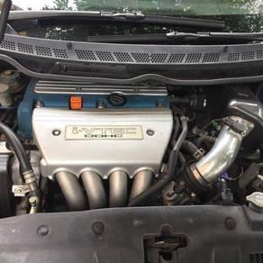 Enjin k24 gearbox 6speed fd2r
