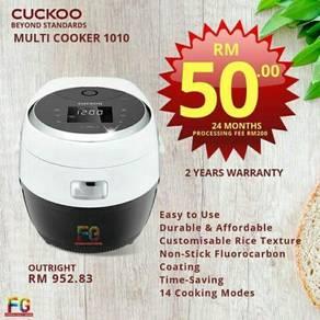 Cuckoo new offer multicooker serbaguna cash/ansur