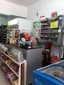 Mini Market at busy condo in Batu Caves
