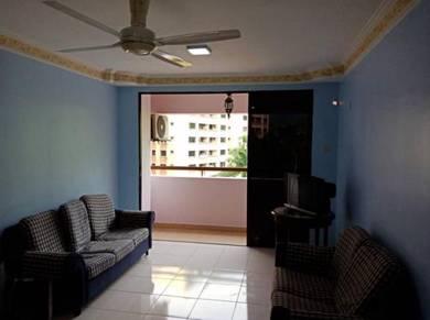 Putra villa condo beside lrt melati setapak move in condition