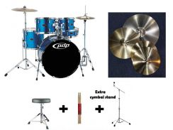 Pdp z5with 4 piece complete cymbals