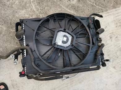 Mercedes Benz w211 radiotor dan fan motor