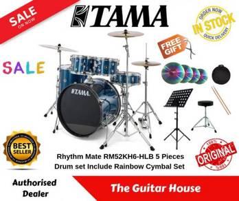 Tama RM52KH6-HLB Rhythm Mate w/BSL Rainbow Cymbal