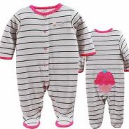 Baby jumper suit (long sleeves with socks) bc-5302