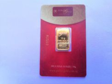 Gold bar 10 gram public gold emas 999.9