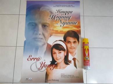 Poster Original HINGGA H NYAWA Limited Edition 04