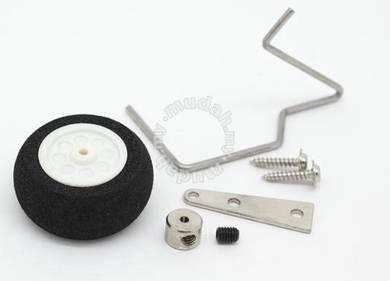25mm Steerable Foam Tail Wheel Assembly 43264