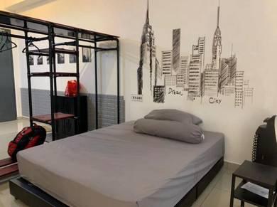 Apartment, D Carlton, Studio, Fully, Megah Ria, Masai, JB