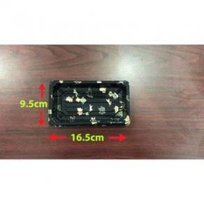16.5x9.5x4.8cm Sushi box gold ± 50pcs/100pcs