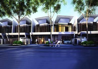 (24x81) Double Storey Superlink Home's wth Cash Back RM100k  -