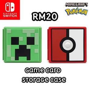 Nintendo Switch Game Cards Storage Case C