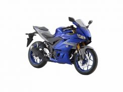 Yamaha R25 v2 with slip on exhaust promotion