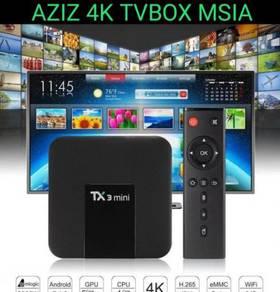 Android Tv box 4k Extra UHD