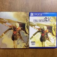 PS4 game Final Fantasy Type-0 HD + steelcase