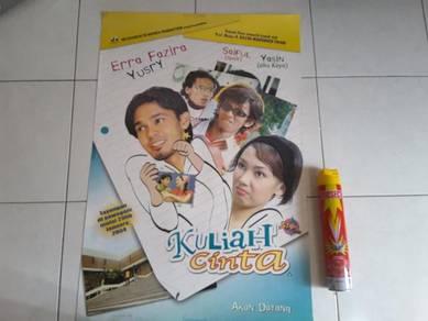 Poster Original KULIAH CINTA Limited Edition 2004