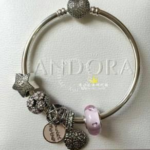 Pandora Sweet Mother Bangle set