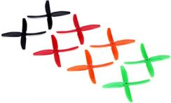 DYS 5040 4-Blade Props (2CW 2CCW) 2 pair X50404-88