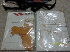 Original Yaesu Amateur Radio Prefix callsign Map