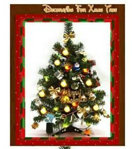X'mas Tree with Decoration Accessories & Lighting