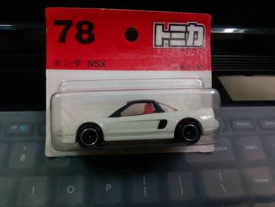 Tomica NSX, carded and loose