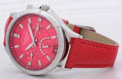 Watch - Casio SHEEN CRYSTAL SHE3047L-4 - ORIGINAL