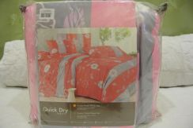 Set Cadar Comforter Single Size (Code CSG45)