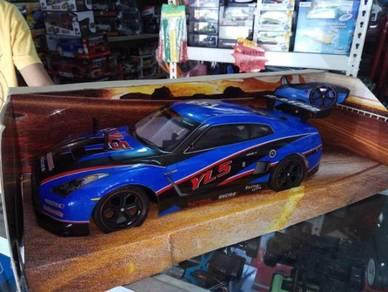 2.4hz rc car R35 blue