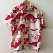 Mens Hawaiian Hawaii Car Shirt Size L all over