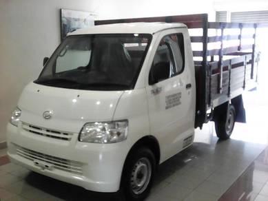 Daihatsu Gran Max pick up wooden cargo baru