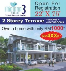 Rumah Baru 2 Tingkat, Senawang