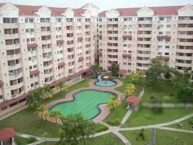 Perdana Villa Apartment, Klang, Freehold. 1282sq ft