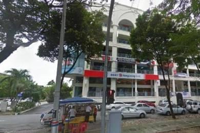 Pulau tikus plaza office lot 1400sf - facing burmah road