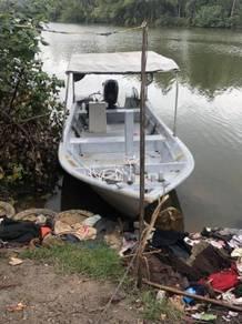 Boat / bot 24x6 80hp