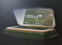 Universal Mobile GPS Navigation Bracket HUD