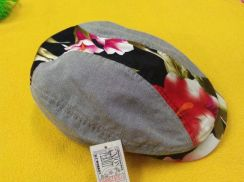 MENS NEWSBOY HATS floral design free size