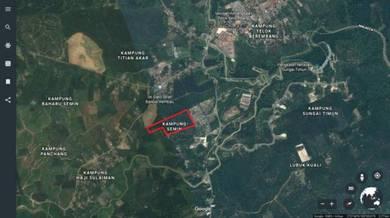 65 Acres Land At Taman Semin, Lubok China, Rembau, Negeri Sembilan